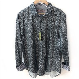 Robert Graham Men's Classic Fit Denver Shirt XL
